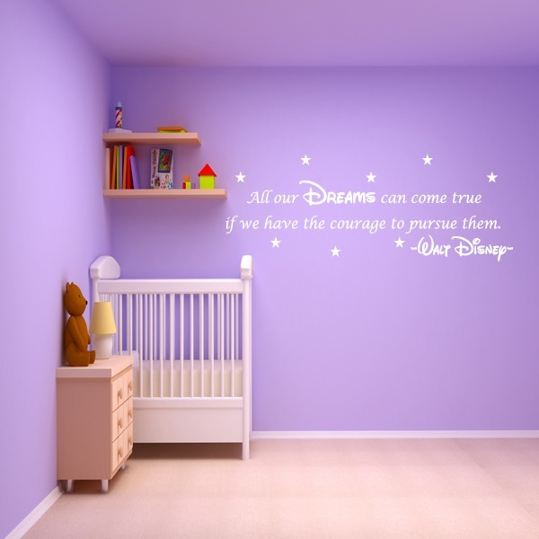 ... DISNEY WALL STICKER QUOTE ...