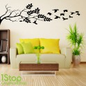 TREE BRANCH WALL STICKER QUOTE - BEDROOM LOVE HOME WALL ART DECAL X336