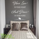 HAVE LOVE IN YOUR HEART WALL STICKER QUOTE - LOVE HOME WALL ART DECAL X337