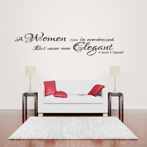 Superior COCO CHANEL WALL STICKER Part 32