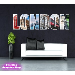 LONDON WALL STICKER