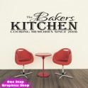 PERSONALISED KITCHEN WALL STICKER