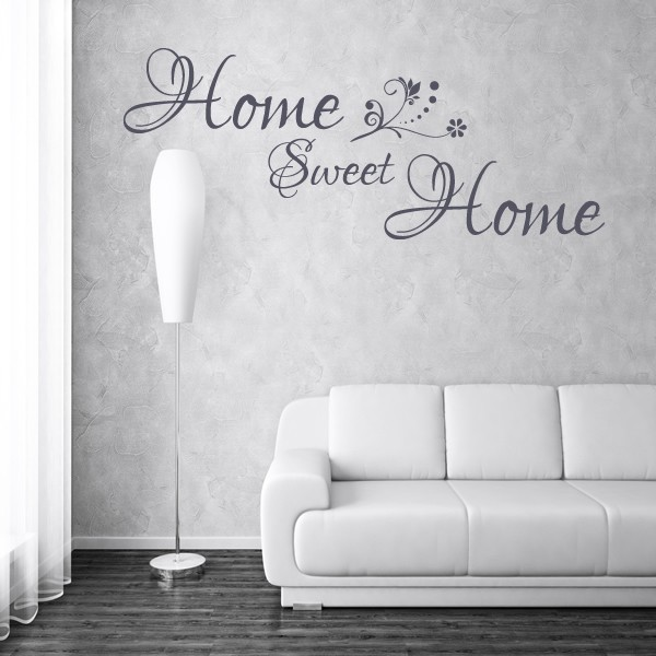 HOME SWEET HOME · HOME SWEET HOME WALL STICKER   BEDROOM LOUNGE BATHROOM  WALL ART QUOTE X41 ...