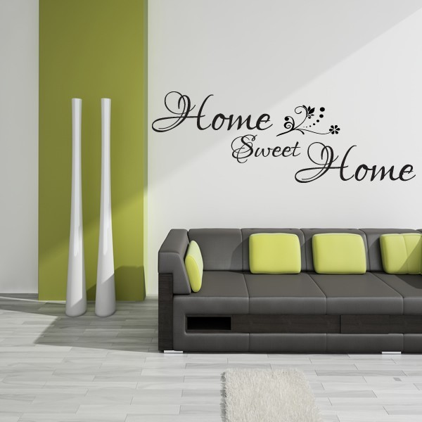 Home Sweet Home Wall Sticker X41 1stopgraphicsshop Wall