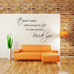IT DOESN'T MATTER WALL STICKER