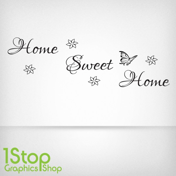 HOME SWEET HOME WALL STICKER ... Part 78