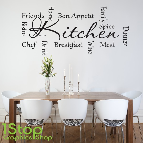 kitchen words wall sticker quote love kitchen home wall herb names kitchen wall decal kitchen wall sticker with