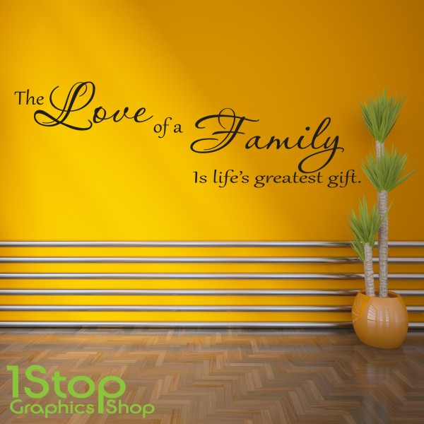 Old Fashioned Family Wall Art Stickers Photos - All About Wallart ...