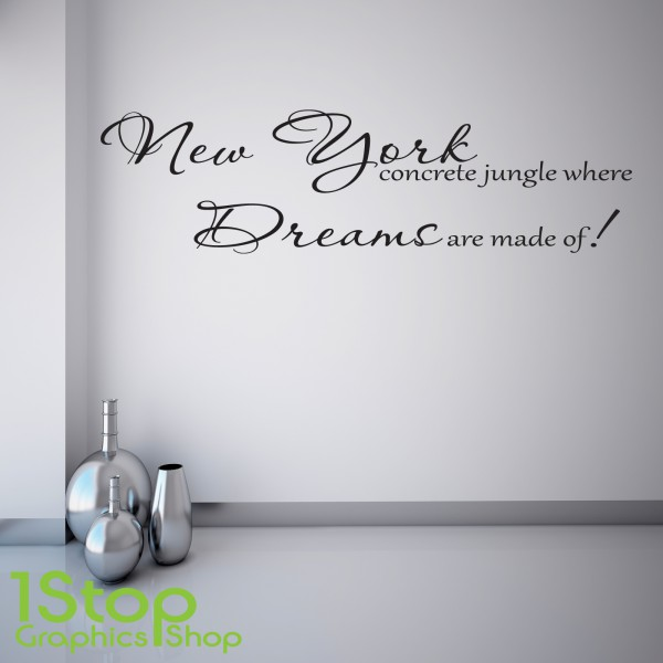 ALICIA KEYS NEW YORK WALL STICKER ... Part 38