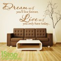 DREAM LIVE WALL STICKER