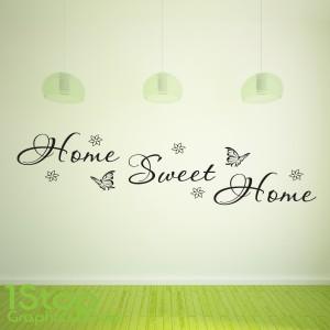 HOME SWEET HOME WALL STICKER