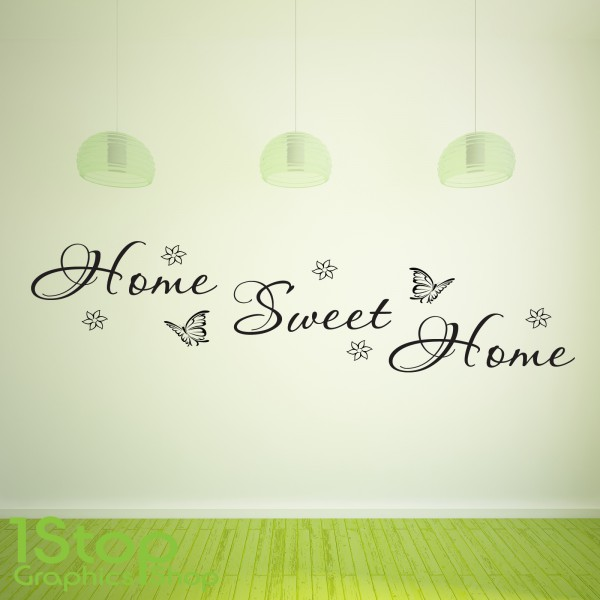 HOME SWEET HOME WALL STICKER ...