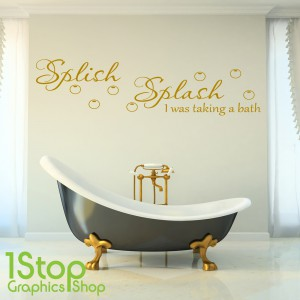 SPLISH SPLASH WALL STICKER